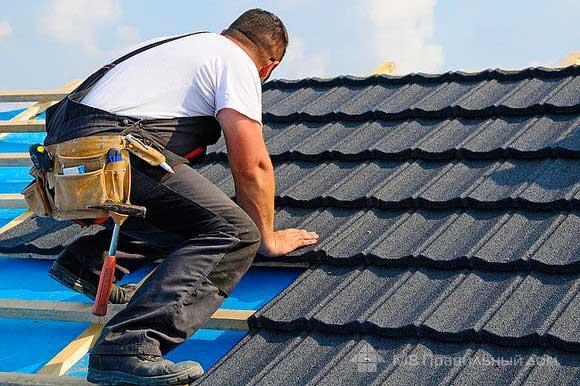 Что важно сделать перед началом монтажа черепицы на старую крышу дома