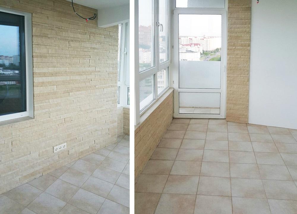 Плитка на пол для балкона - отзыв о клинкерной плитке stroeh.
